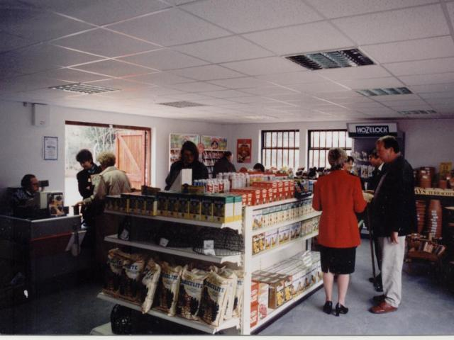 shop opening in 1997